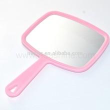 Chinese cheap plastic hand mirror