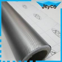 JEYCO VINYL 1.27*30m/ 120um Low price 3D carbon fiber holographic rainbow film foil for car vinyl wrap