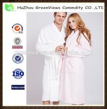 Men bathrobe, Dressing gown, Towelling bathrobe, 100%Cotton, Plus size S, M, L, XL Color White, Pink, Blue, Item No.GVBR1001