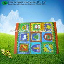 Durable Best-Selling purple 2 colors logo paper gift bag