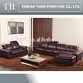 de haute qualité en cuir italie divan salon canapé meubles