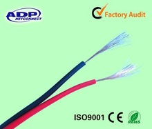 2015 Professional manufacturer cheap 12/14/16AWG 2core black and red speaker cable