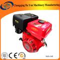 Pequeno motor a gasolina 168f usado para o gerador, bomba de água, leme