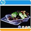 multipurpose decorative dry fruit box PET plastic box with clear lid