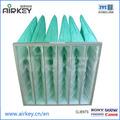 F 5, f 6, f 7, f8 industriale air bag filtro sintetico
