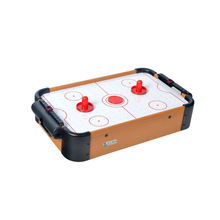 Top selling indoor small air hockey table with 2 pashers and 1 puck,cheap air hockey table