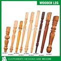 La oficina de la pierna, Decorativo pata de la mesa, De madera de la pierna