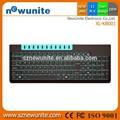 Caliente 2015 100% nuevo abs inalámbrico multimedia del teclado de computadora