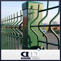 Colorful plastic/metal square and round fence post cap