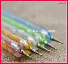 Popular Sea Wave Handle Dot pen, Dotting pen Nail Brush from YASHI