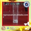 vidro flint alta flores artificiais e vaso de vidro