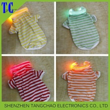2015 New Arrival pet clothes Led light puppy clothes safety products