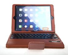 Premium Magnetic Detachable Bluetooth Keyboard PU Case For iPad Air ebour012