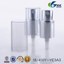 2015 china alibaba Plastic PP UV coating lotion pump/18mm mist spray pump/ uv coating pump dispenser