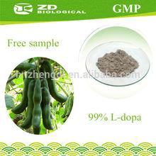 Plant Extract Products Ci mao li dou 98% L-dopa Mucuna Pruriens Extract