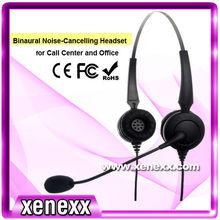 xs335 professionelle oem Contact Center Lync headset mit mikrofon