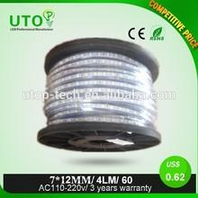 SMD3528 110-220V dream color 7*12MM ic led strip light