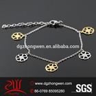 gps twisted sister bangle bracelet