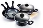 7pcs forged aluminum cookwares