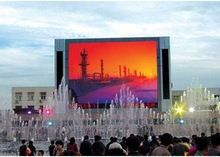 electronic giant led advertising display board outdoor full color