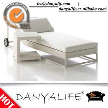 DYLG-D2130 Danyalife Outdoor High Quality Garden Beach Rattan Lounger Chair