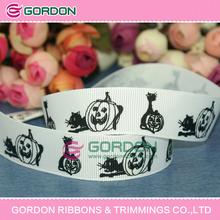 "halloween ribbon,halloween printed grosgrain ribbon,print grosgrain ribbon 1"""