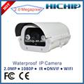 Hichip duas vias de áudio CMOS Megapixel câmera IP sem fio ao ar livre, Infravermelho 50 m