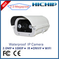 Cámara IP exterior inalámbrica infrarroja Hichip con dos canales de audio CMOS, megapíxeles, 50 m