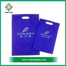 Custom die cut handle shopping bag