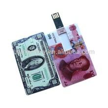 Innovative products credit card shape usb memory stick 2015