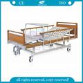 Ag-bys111 cabeza de plástico/estribo durable manual de cama para el hospital