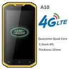 IP68 5.5inch 4G LTE Smartphone Qualcomm MSM8916 RAM 1GB ROM 8G Android 4.4.4 Quad Core Slim A10 Waterproof Rugged phone