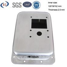 Custom 2mm sheet metal stamping aluminium box
