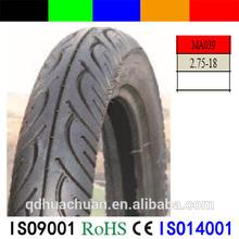 Street motorbike tyres motorcycle tyre Pattern NO.MA039 2.75-18