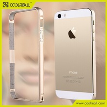 Apple accessories Aluminum bumper cover case for iPhone 5,6,6+,Logo printing.