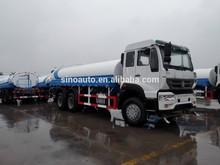 sinotruk water tank truck specifications