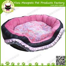 beauty lace dog bed pink dog cushion house