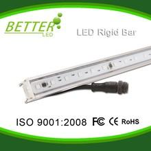 Digital full color change DMX IP65 5050 RGB aluminum LED rigid strip