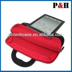 Neoprene sleeve case for ipad , promotion Neoprene tablet laptop netbook sleeve case pouch