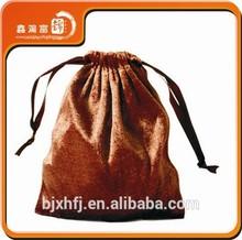High quality China factory promotion velvet drawstring bag