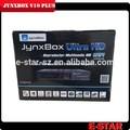 2015 venta caliente original jynxbox v10 plus con wifi jb200 8 psk módulo para américa del norte