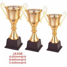 blank gold metal laser logo bowling trophies