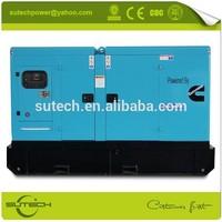 Fast delivery 100kw diesel generator, powered by Cummins 6BTA5.9-G2 engine
