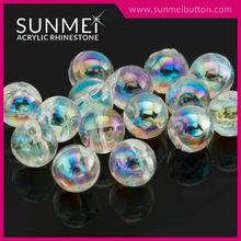Bulk Opal Color Sew on Acrylic Plastic Crystal Beads