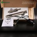 Tension variable 3.3 - 4.8 V twist batterie kit boîte en bois mod vaporisateur ecigarette double chauffage gros cigarette électronique