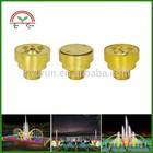Brass Fountain Dancing Nozzle Outdoor Water Sprayer Nozzles