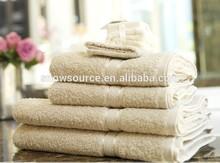 Promotional 100 Turkish cotton Egyptian Towel set Dobby Hotel Towel set