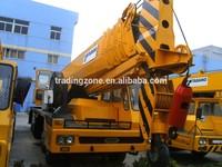 Used TADANO 65-ton truck crane , TG650E Original from Japan, low-costing