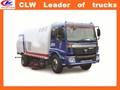 Euro 3& euro 2 vide balayeuse camion prix hors route du véhicule de balayage 4*2 route de nettoyage de véhicule