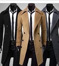 Trendy man long winter dust coat alibaba express wholesale good quality men coat